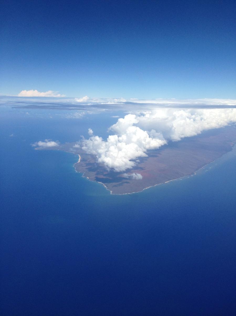 ハワイ島へとオアフ島の旅